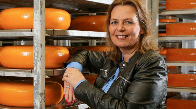Zuivelkoningin Mireille Kaptein Is Zakenvrouw Van Het Jaar 2019