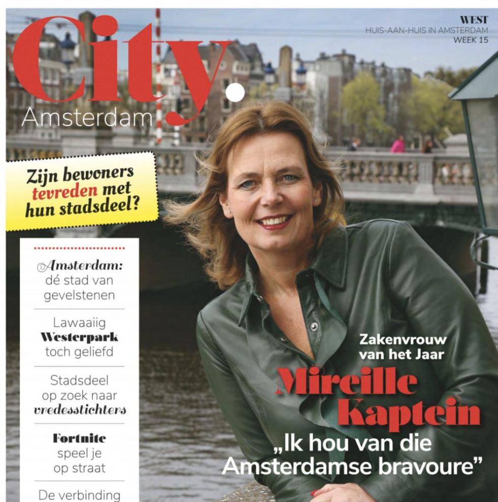 City Amsterdam: 10 Vragen Aan Mireille Kaptein