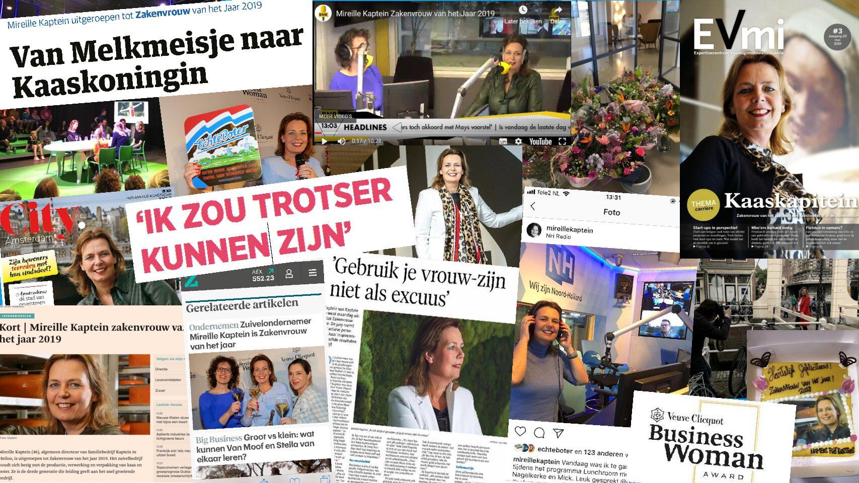 2 Maanden Zakenvrouw Van Het Jaar…tijd Voor Een Update!